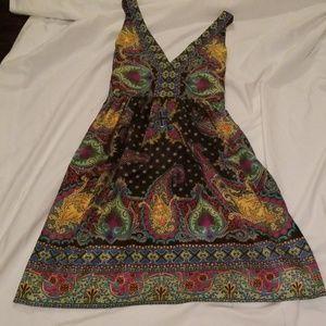 Colorful ECI New York Lightweight Dress Tie Back 4
